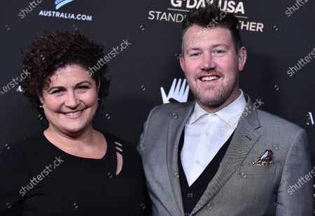 Stock Image of Susan Coghill and Eddie Perfect