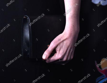 Michelle Dockery, bag detail