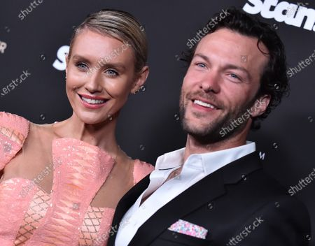Nicky Whelan and Kyle Schmid