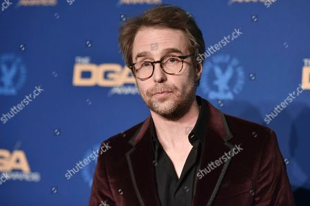 Sam Rockwelll poses in the press room at the 72nd Annual Directors Guild of America Awards at the Ritz-Carlton Hotel, in Los Angeles