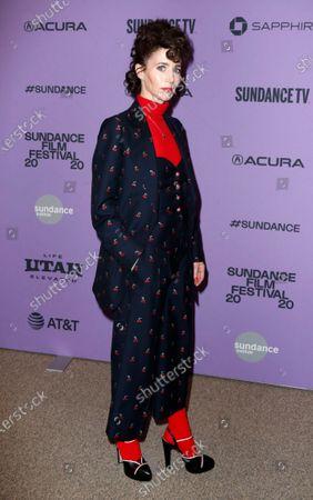 Miranda July arrives for the premier of the film 'Kajillionaire' at the 2020 Sundance Film Festival in Park City, Utah, USA, 25 January 2020. The festival runs from 22 January to 02 February 2020.