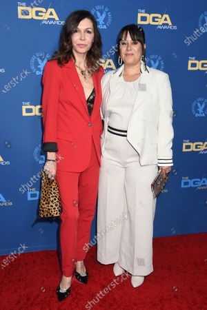 Stock Photo of Finola Hughes and Kimberly McCullough