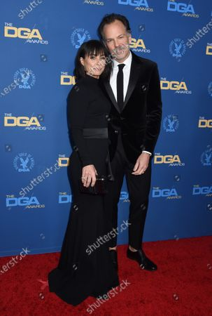 Stock Photo of Constance Zimmer and Russ Lamoureux