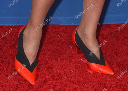 Christine Lahti, shoe detail