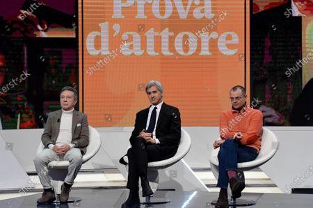 Pupo, Riccardo Bocca and Paolo Giordano