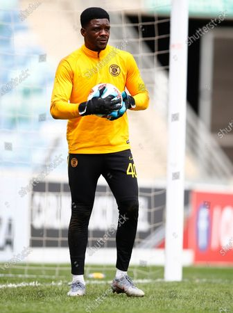 Stock Picture of Daniel Akpeyi G/K of Kaizer Chiefs