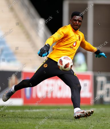 Stock Image of Daniel Akpeyi G/K of Kaizer Chiefs
