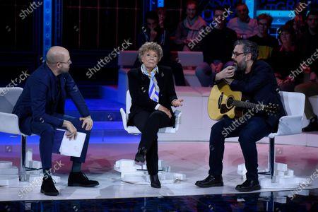 Paolo Mieli, Dacia Maraini and Brunori
