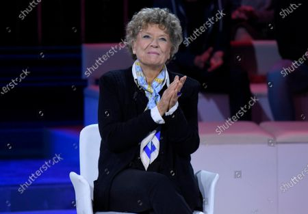 Editorial photo of 'The Words of the Week' TV show, Milan, Italy - 25 Jan 2020
