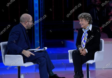 Editorial picture of 'The Words of the Week' TV show, Milan, Italy - 25 Jan 2020