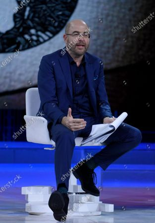 Editorial image of 'The Words of the Week' TV show, Milan, Italy - 25 Jan 2020