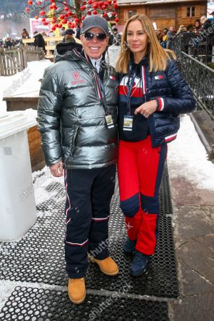 Tommy Hilfiger and Dee Ocleppo at the Audi FIS Alpine Ski World Cup Men's Downhill