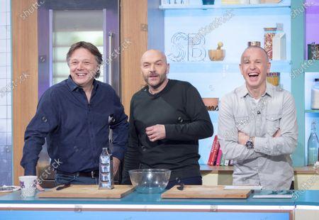 Shaun Dooley, Tim Lovejoy and Simon Rimmer