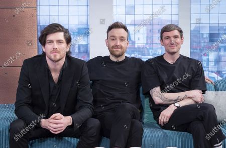 Stock Photo of Twin Atlantic - Sam McTrusty, Ross McNae and Craig Kneale