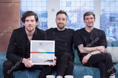Stock Picture of Twin Atlantic - Sam McTrusty, Ross McNae and Craig Kneale