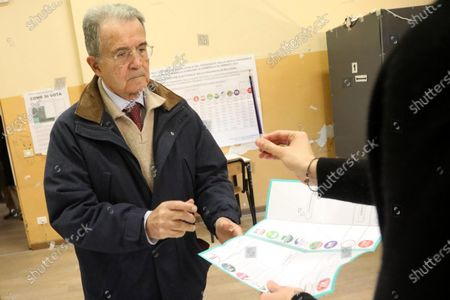 Editorial photo of Regional elections in Calabria, Emilia Romagna, Bologna, Italy - 26 Jan 2020