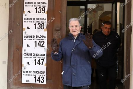 Editorial image of Regional elections in Calabria, Emilia Romagna, Bologna, Italy - 26 Jan 2020