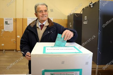 Editorial picture of Regional elections in Calabria, Emilia Romagna, Bologna, Italy - 26 Jan 2020