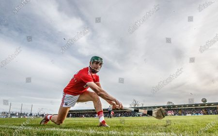 Waterford vs Cork. Cork's Patrick Horgan practices side line cuts before the game