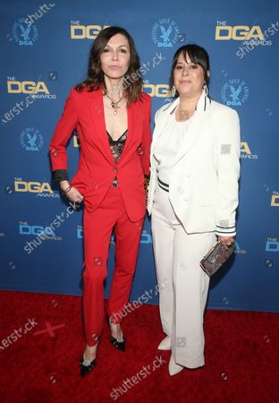 Stock Image of Finola Hughes and Kimberly McCullough
