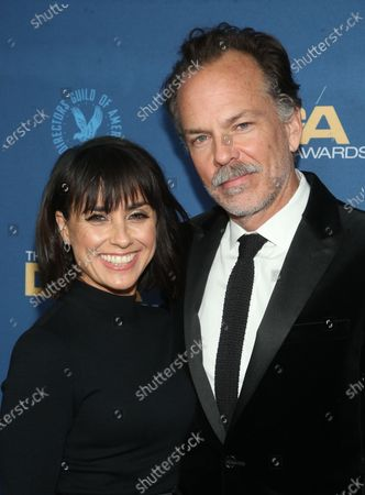 Stock Image of Russ Lamoureux, Constance Zimmer