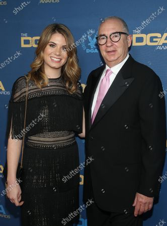 Stock Image of Barry Sonnenfeld and Chloe Sonnenfeld