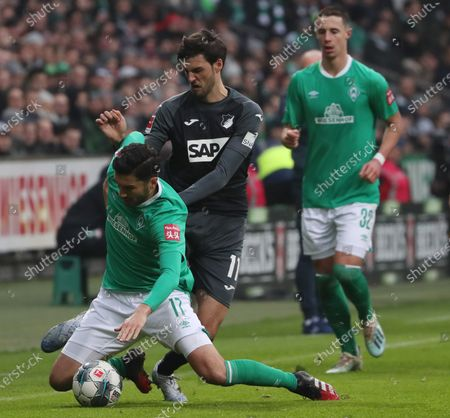 Editorial picture of SV Werder Bremen vs. TSG 1899 Hoffenheim, Germany - 26 Jan 2020