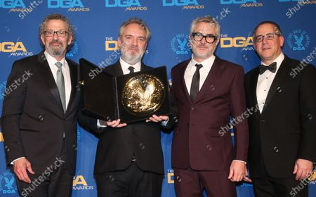 Editorial photo of 72nd Annual Directors Guild of America Awards, Press Room, The Ritz-Carlton, Los Angeles, USA - 25 Jan 2020