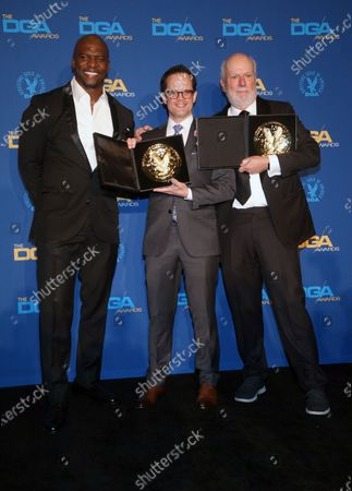 Andy Fisher, James Burrows, Terry Crews