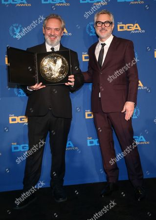 Editorial image of 72nd Annual Directors Guild of America Awards, Press Room, The Ritz-Carlton, Los Angeles, USA - 25 Jan 2020