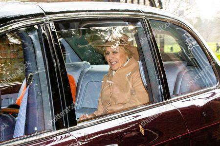 Editorial image of Queen Elizabeth II attends church service, Sandringham, Norfolk, UK - 26 Jan 2020