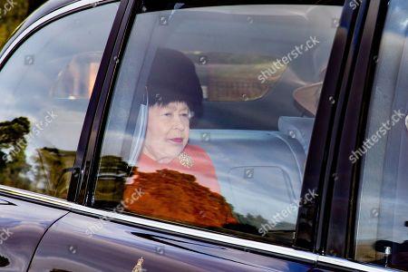 Editorial photo of Queen Elizabeth II attends church service, Sandringham, Norfolk, UK - 26 Jan 2020
