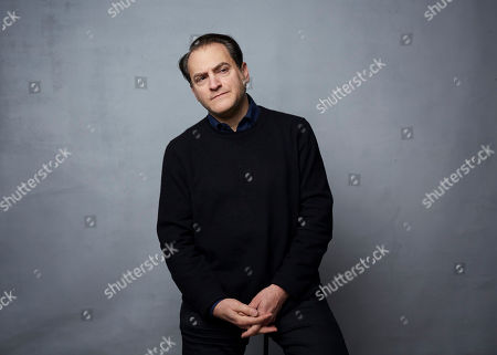 """Stock Picture of Michael Stuhlbarg poses for a portrait to promote the film """"Shirley"""" at the Music Lodge during the Sundance Film Festival, in Park City, Utah"""