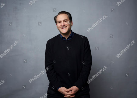 """Stock Image of Michael Stuhlbarg poses for a portrait to promote the film """"Shirley"""" at the Music Lodge during the Sundance Film Festival, in Park City, Utah"""