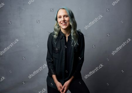 "Stock Picture of Josephine Decker poses for a portrait to promote the film ""Shirley"" at the Music Lodge during the Sundance Film Festival, in Park City, Utah"