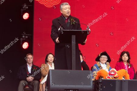 People's Republic of China Ambassador to the UK Liu Xiaoming