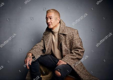 "Editorial image of 2020 Sundance Film Festival - ""Falling"" Portrait Session, Park City, USA - 26 Jan 2020"