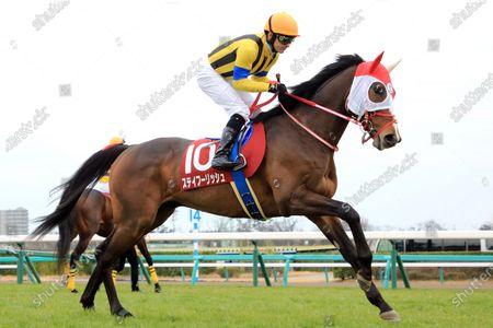 , Nakayama, Stay Foolish with Christophe Lemaire at Nakayama racecourse, Japan.