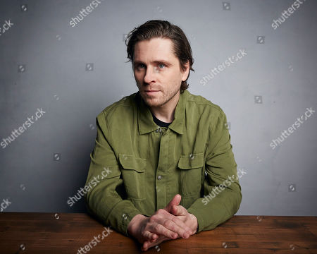 """Sverrir Gudnason poses for a portrait to promote the film """"Falling"""" at the Music Lodge during the Sundance Film Festival, in Park City, Utah"""