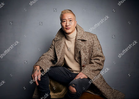 """Terry Chen poses for a portrait to promote the film """"Falling"""" at the Music Lodge during the Sundance Film Festival, in Park City, Utah"""