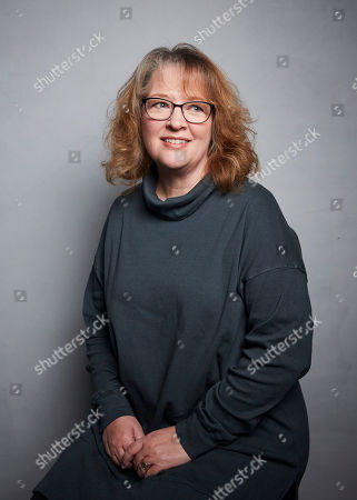 """Stock Image of Brenda Chapman poses for a portrait to promote the film """"Come Away"""" at the Music Lodge during the Sundance Film Festival, in Park City, Utah"""