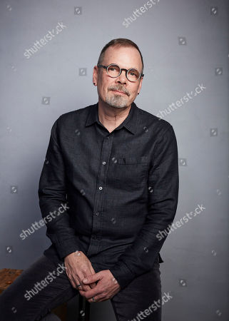 """David France poses for a portrait to promote the film """"Welcome to Chechnya"""" at the Music Lodge during the Sundance Film Festival, in Park City, Utah"""