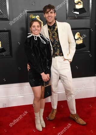 Jason Evigan and Victoria Evigan. Victoria Evigan, left, and Jason Evigan arrive at the 62nd annual Grammy Awards at the Staples Center, in Los Angeles