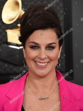 Stock Photo of Tracy Young arrives at the 62nd annual Grammy Awards at the Staples Center, in Los Angeles