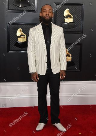 Ty Dolla Sign arrives at the 62nd annual Grammy Awards at the Staples Center, in Los Angeles
