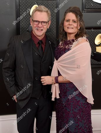 Stock Photo of Steven Curtis Chapman, Marybeth Chapman. Steven Curtis Chapman, left, and Marybeth Chapman arrive at the 62nd annual Grammy Awards at the Staples Center, in Los Angeles