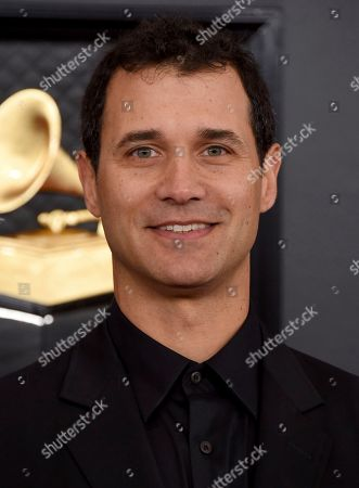 Stock Photo of Ramin Djawadi arrives at the 62nd annual Grammy Awards at the Staples Center, in Los Angeles