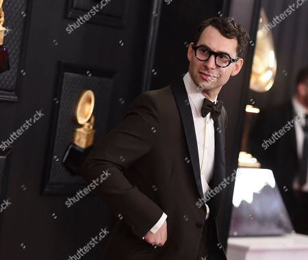 Jack Antonoff arrives at the 62nd annual Grammy Awards at the Staples Center, in Los Angeles