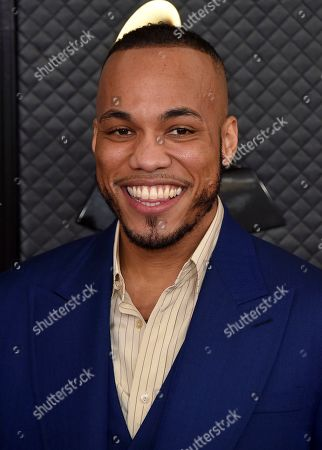 Anderson. Paak arrives at the 62nd annual Grammy Awards at the Staples Center, in Los Angeles