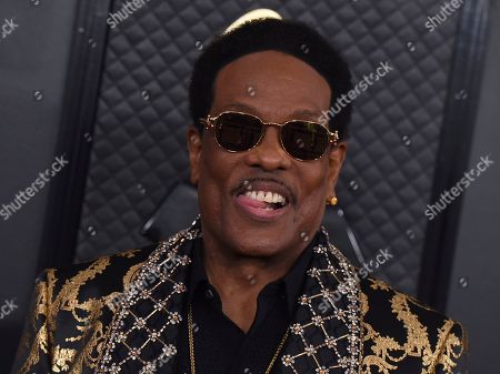 Charlie Wilson arrives at the 62nd annual Grammy Awards at the Staples Center, in Los Angeles